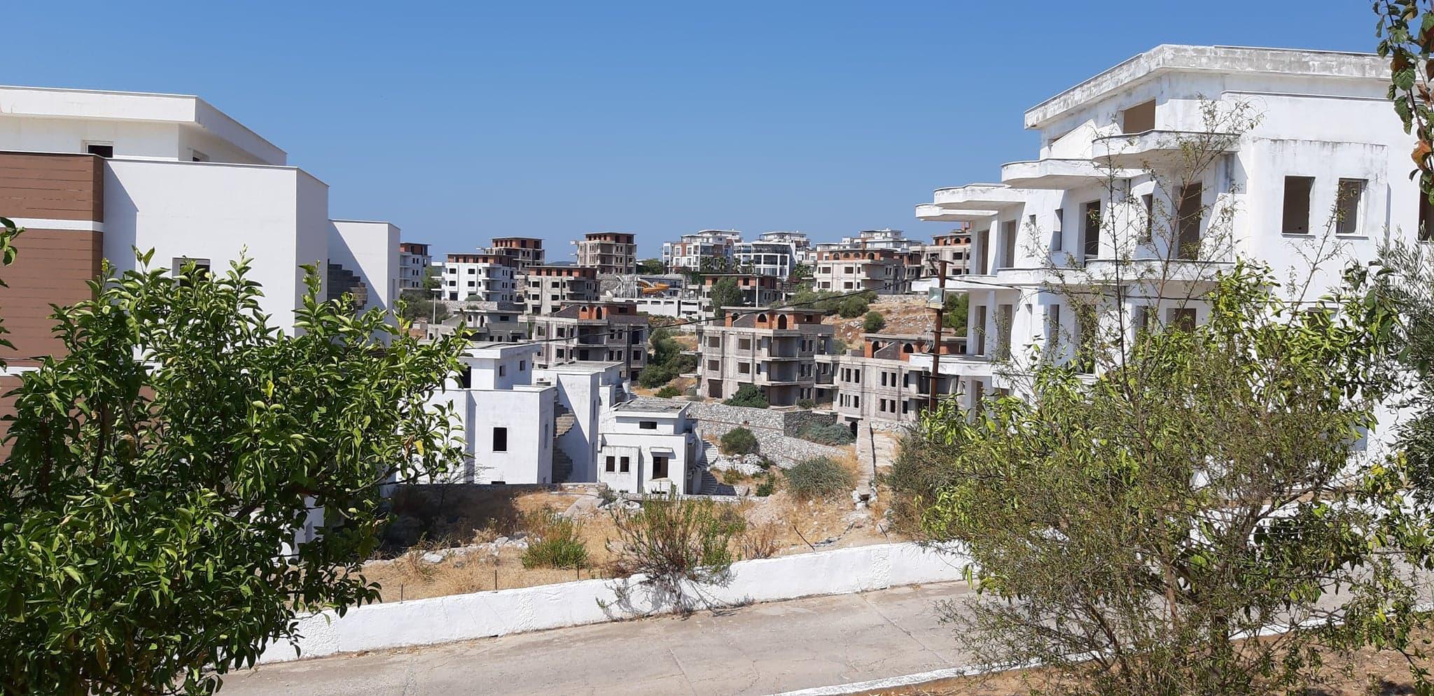 Milas İasos'ta villa mezarlığı